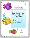 Reach for Reading National Geographic 1st Grade Spelling T