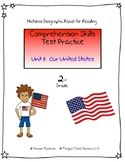 Reach for Reading National Geographic 2nd Grade Comprehension Test Practice U8