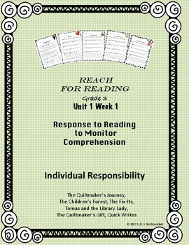 Reach for Reading National Geographic Grade 3 Unit 1 Week 1