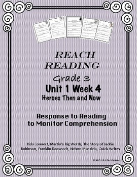 Reach for Reading National Geographic Grade 3  Unit 1         Week 4