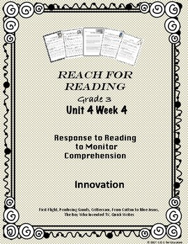 Reach for Reading National Geographic Grade 3 Unit 4 Week 4
