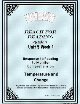 Reach for Reading National Geographic Grade 3 Unit 5 Week 1