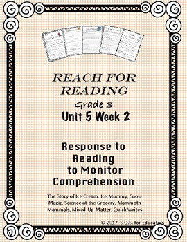 Reach for Reading National Geographic Grade 3 Unit 5 Week 2
