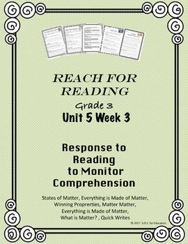 Reach for Reading National Geographic Grade 3 Unit 5 Week 3