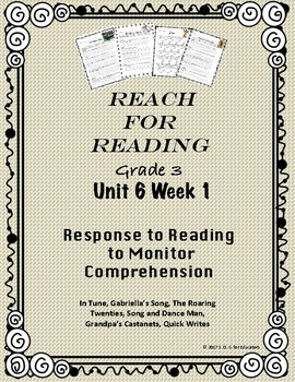 Reach for Reading National Geographic Grade 3 Unit 6 week 1