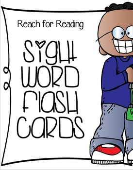 Reach for Reading Sight Word Cards