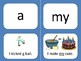 Reach for Reading Sight Word Flash Cards with Sentence
