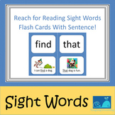 National Geographic Reach for Reading Sight Word Flash Car