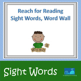Reach for Reading Sight Words, Word Wall