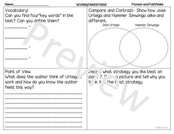 Reach for Reading | Third Grade | Student Lead | Information Organizer | Unit 4