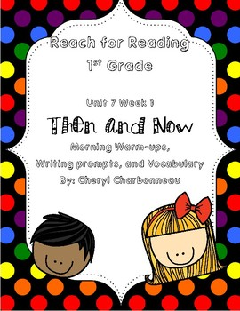 Reach for Reading Unit 7 Week 1 Morning Warm Ups, Vocabulary and Writing