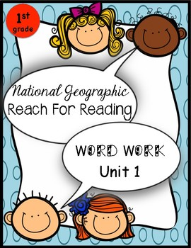 Reach for Reading Word Work Unit 1