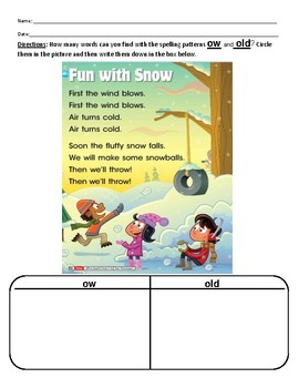 Reach for Reading by National Geographic Phonics First Grade Unit 6 Week 1
