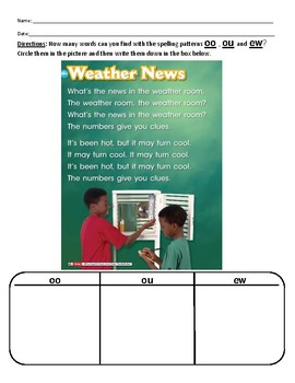 Reach for Reading by National Geographic Phonics First Grade Unit 6 Week 3