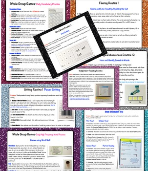 National Geographic's Reach for Reading Routines Cheat Sheets