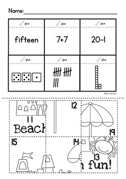 Summer Printables Pack - End of Year Activities