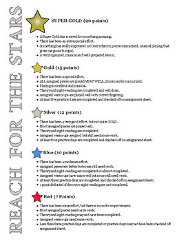 Reach for the Stars Incentive