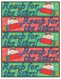 Reach for the Stars bookmarks
