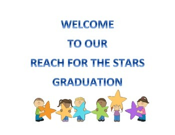Reach for the stars preschool graduation