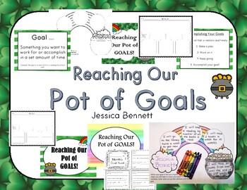 Reaching Our Pot of Goals- Goal Setting