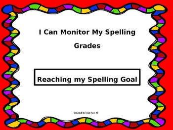 Reaching Spelling Goals