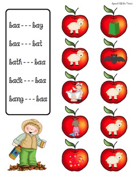 Reaching Up  Minimal Pairs for Final Consonants