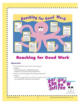 Reaching for Good Work (Bulletin Board)