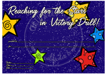 Reaching for the Stars in Victory Drill