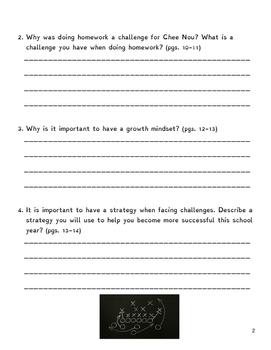 React & Write - Growth Mindset