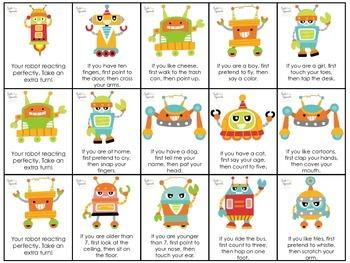 Reacting Robots