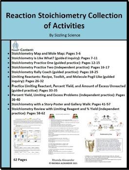 Stoichiometry activities teaching resources teachers pay teachers fandeluxe Images