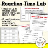 Reaction Time Nervous System Lab