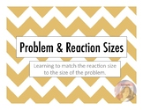 Reaction and Problem Size