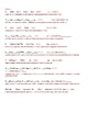 Reactions: Types, Balancing & Word Equations