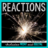 Reactions Unit - Distance Learning Compatible