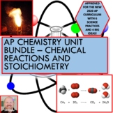 AP Chemistry Unit Bundle - Chemical Reactions and Stoichiometry