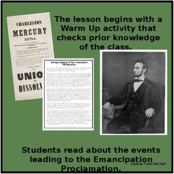 Reactions to the Emancipation Proclamation - Close Reading & Analysis of Images