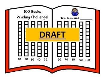 Reading 100 Books Challenge Chart