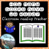 """How Many Books Have We Read?"" - Classroom Book Tracker"