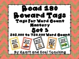 Read 180 Brag Tags For Word Count Mastery Set 3