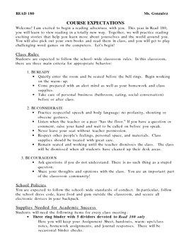 Read 180 Class management