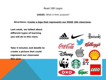 Read 180 Classroom Management, Week 1