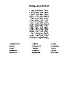 Read 180 FLEX2 Workshop 8 (Crash!) Word Search