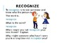 Read 180 Identity Crisis Workshop 3 vocabulary powerpoint (editable)