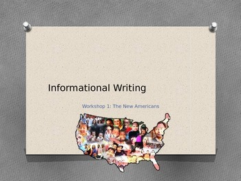 Read 180 NG Workshop 1 Informational Writing