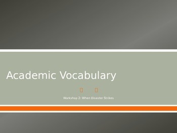 Read 180 NG Workshop 2 Academic Vocabulary
