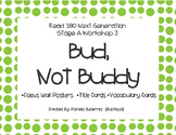 Read 180 Next Generation Stage A Workshop 3 Bud Not Buddy