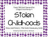 Read 180 Next Generation Stage B Workshop 4 Stolen Childhoods Focus Wall