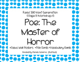 Read 180 Next Generation Stage B Workshop 6 Poe: The Master of Horror Focus Wall