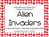 Read 180 Next Generation Stage B Workshop 7 Alien Invaders Focus Wall